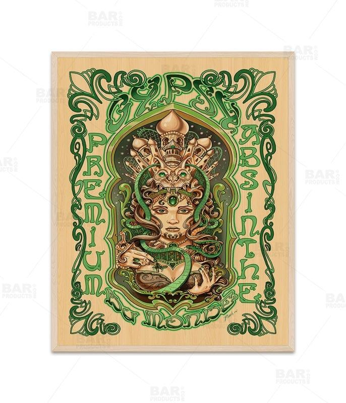 "Absinthe 24"" x 30"" Wooden Table Top - Two Types Available"