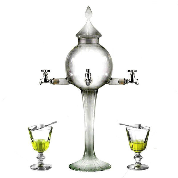 Absinthe Fountain - Globe Glass 4 Spout