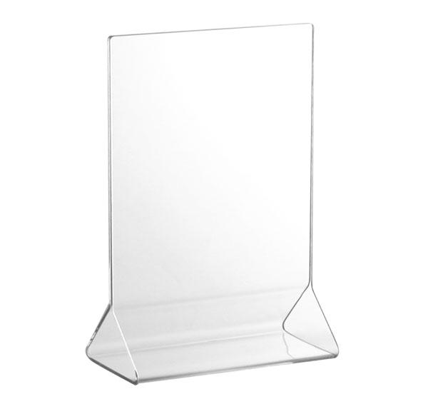 Acrylic Tabletop Menu Card Holder