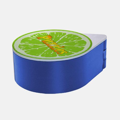 ADD YOUR NAME - Custom Glass Rimmer Lid - Lime with Blue Base