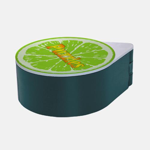 ADD YOUR NAME - Custom Glass Rimmer Lid - Lime with Green Base