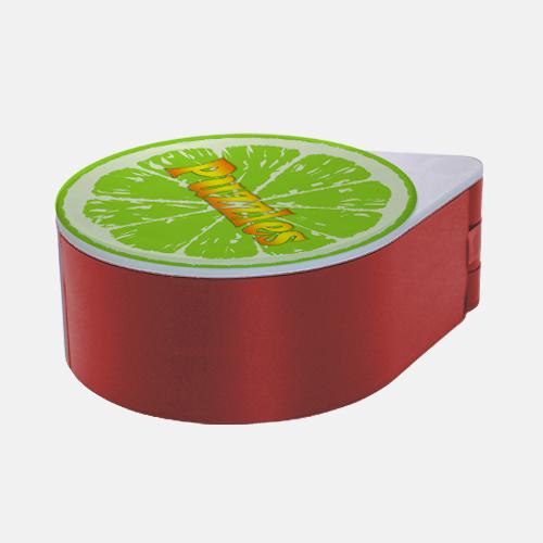 ADD YOUR NAME - Custom Glass Rimmer Lid - Lime with Red Base