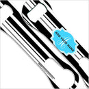 ADD YOUR NAME V-Rod® Bottle Opener – Stripes - Blue