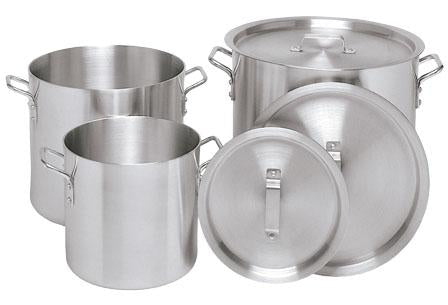 Aluminum Lids for Braziers and Stock Pots