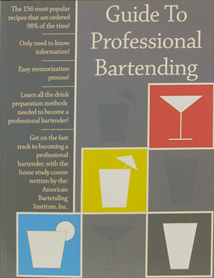 Guide to Professional Bartending - Book