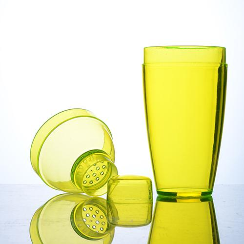 Plastic 3 piece Cocktail Shaker - 7oz
