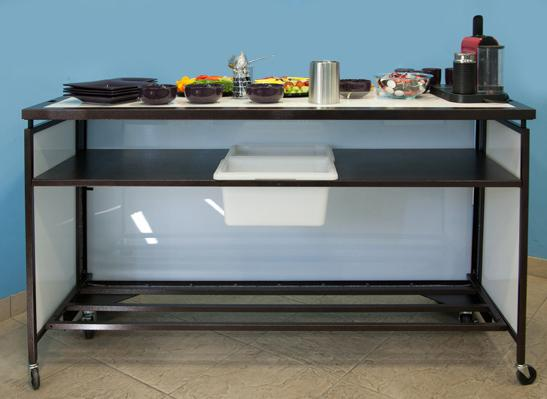 Smart BackBar PLUS- High End Light Up deluxe portable BackBar
