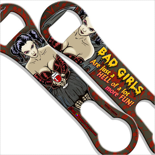 Kolorcoat V-Rod Bottle Opener - Bad Girls