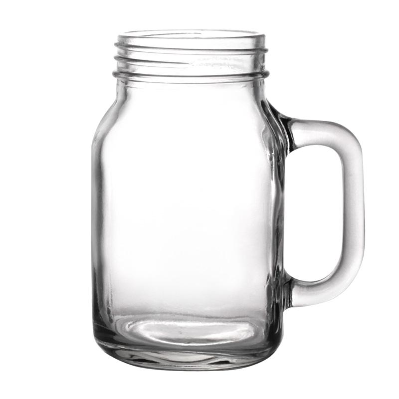 BarConic® Mason Jar Mug Glass - 20 ounce - CASE OF 12