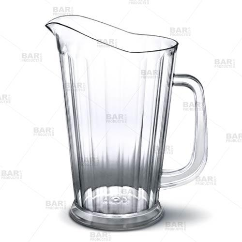 Barconic® 60 oz SANS Plastic Clear Pitcher (Tapered)