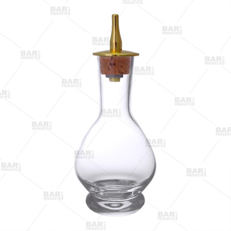 BarConic® 70ml Bitter Bottle with Gold Plated Stainless Steel Dasher