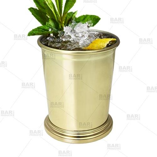BarConic® Gold Plated Mint Julep Cup - 12 oz