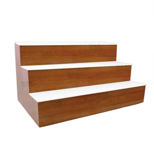 Products BarConic® LED Liquor Bottle Display Shelf - 3 Steps - Wild Cherry - Several Lengths