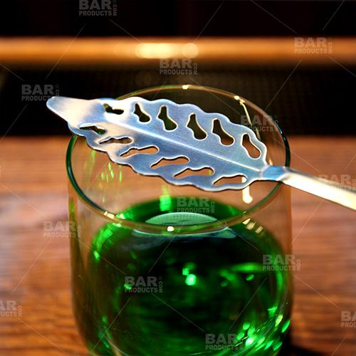 BarConic® Stainless Steel Absinthe Spoon - Leaf