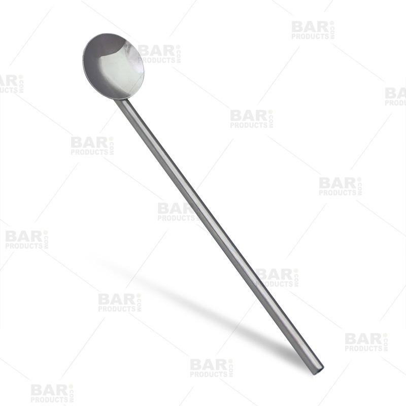 BarConic® Stainless Steel Straw/Spoon - 7.5 inch