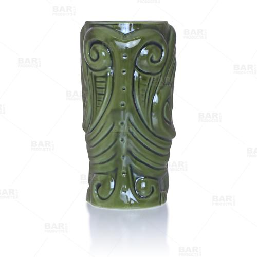 BarConic® Tiki Drinkware – Warrior – Back