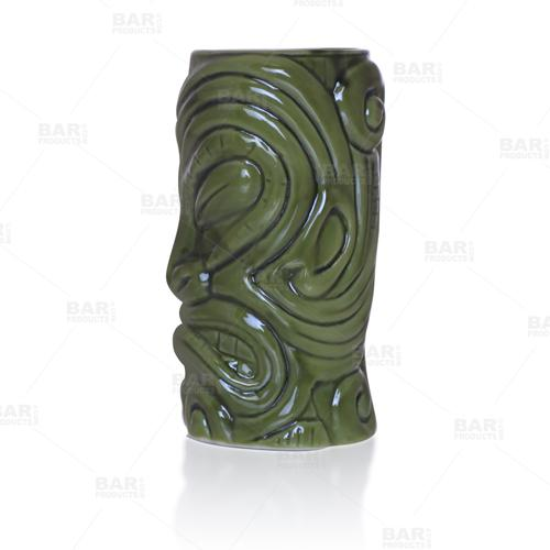 BarConic® Tiki Drinkware – Warrior – Side