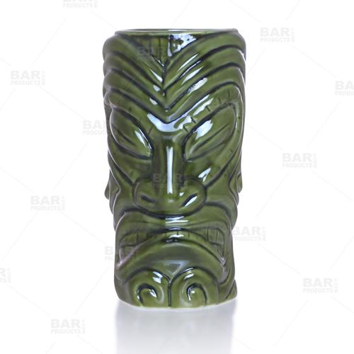 BarConic® Tiki Drinkware – Warrior – Front
