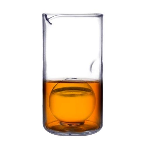 BarConic® Whiskey Pitcher with Ball Insert - 14oz. Glass