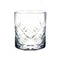 BarConic® 8 oz Japanese Diamond Cut Rocks Glass