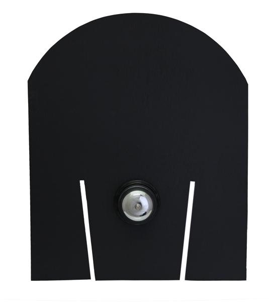 Chalkboard Backboard for Tip Bucket - with Bell
