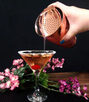 BarConic® Julep Strainer with curved handle - Copper Plated