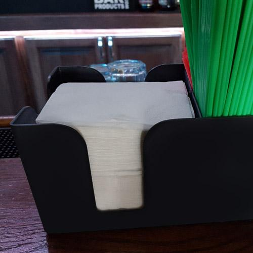 Beverage Napkins with Napkin Caddy