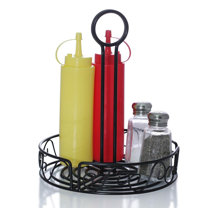 Round Condiment Caddy