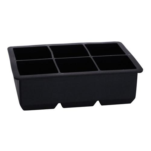 King Cube Silicone Ice Tray - Black