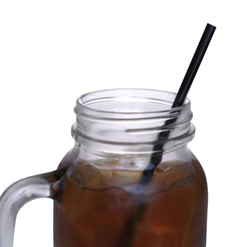 BarConic® Individually Wrapped Straws – Black