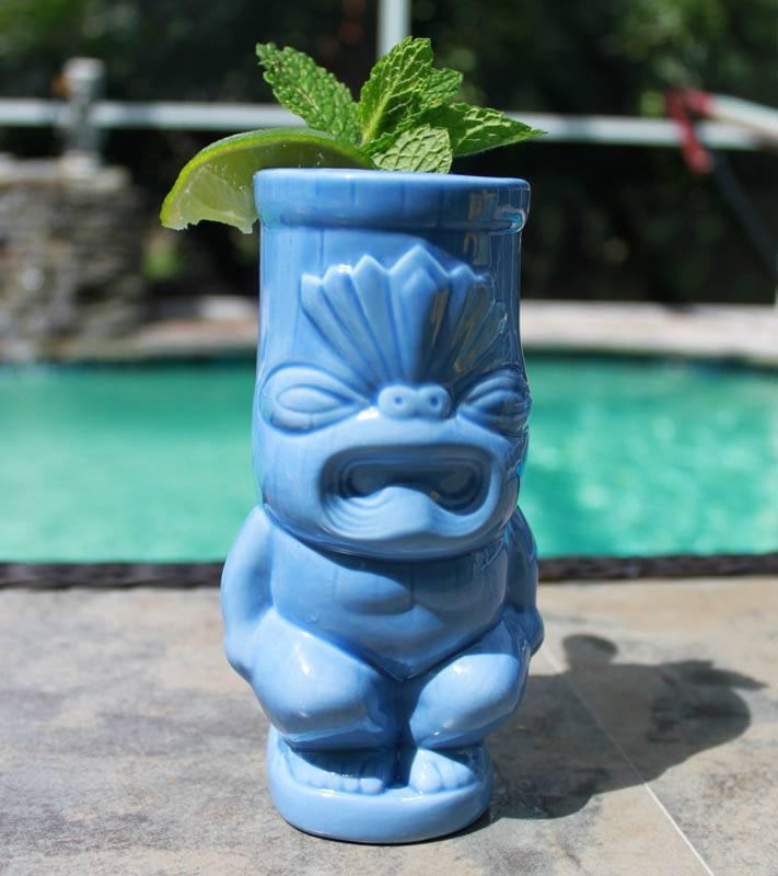 Butt Tiki Drinkware - Front View