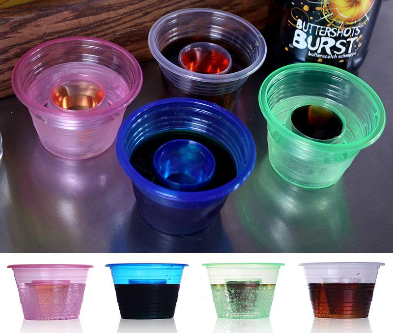 Jager Shot Cups / Bomb SHOTZ® - ORIGINAL - Sleeve of 50