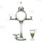 Absinthe Fountain - Globe Glass 2 Spout