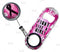 Kolorcoat™ Mini Opener with Retractable Reel - Breast Cancer Awareness