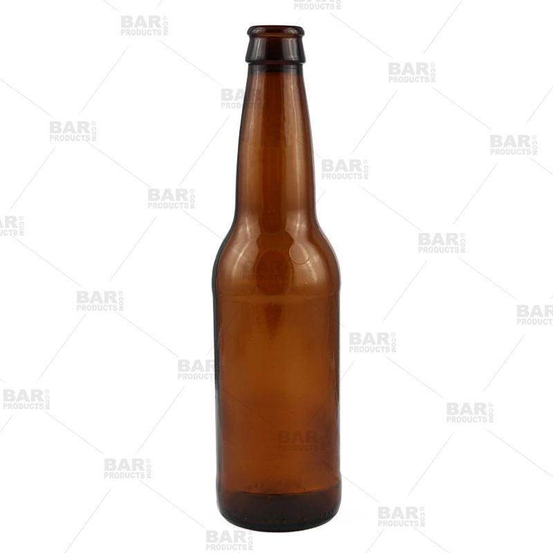 12 oz Brown Beer Bottles - Case of 24