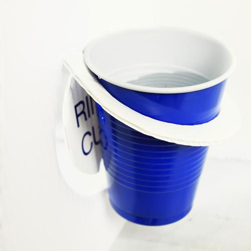 Vert Pong® – Rinse Cup Holder