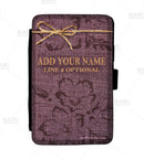 ADD YOUR NAME Guest Check Pad Holder - Burlap