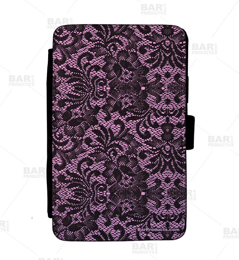 Guest Check Pad Holder - Pink Lace