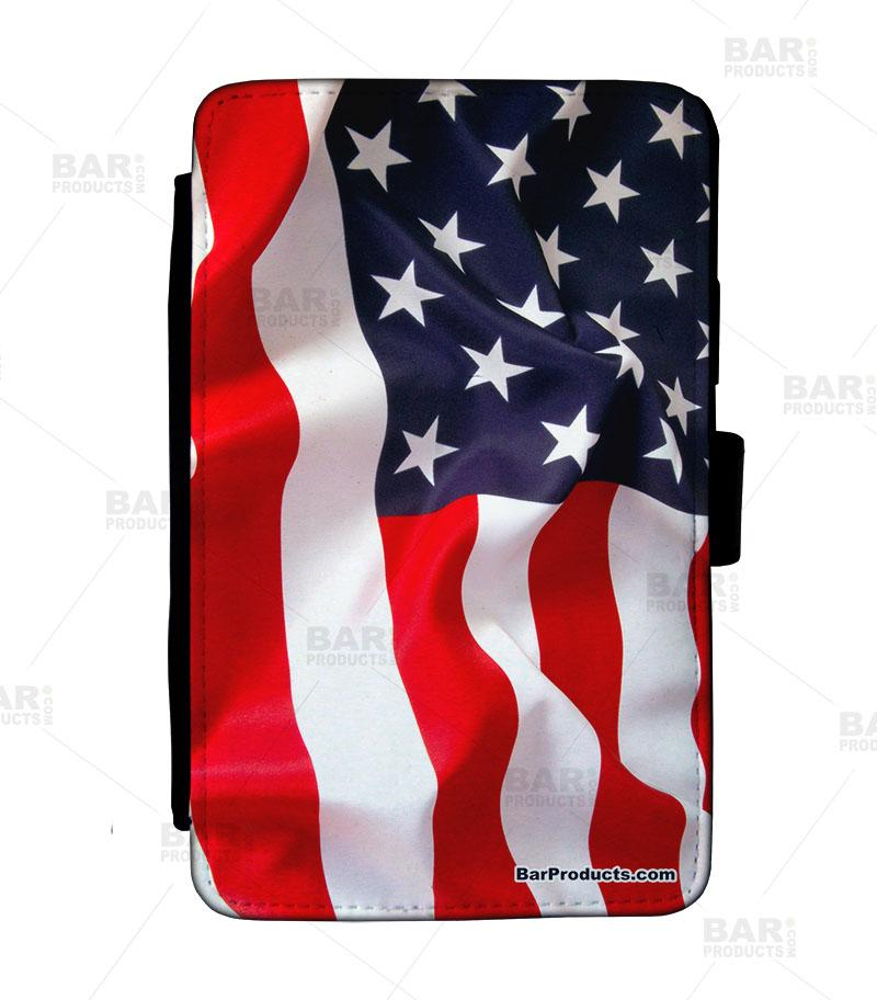 Guest Check Pad Holder - U.S. Flag