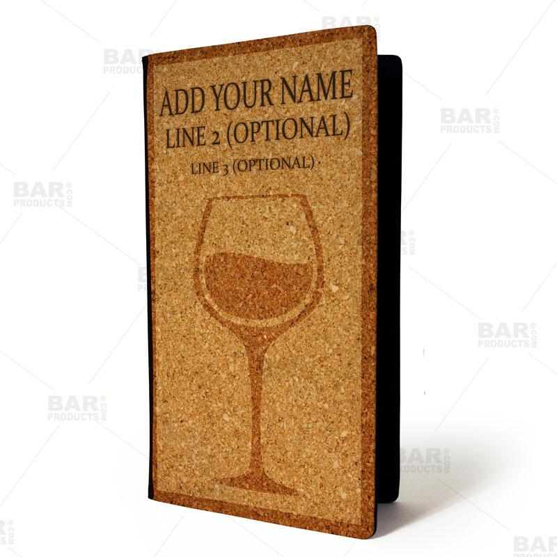 ADD YOUR NAME - Check Presenter - Wine Cork