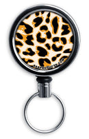 Retractable Reels for Bottle Openers – Orange Cheetah