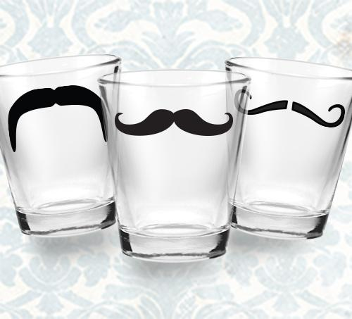 Shot Glass Sets - Mustache