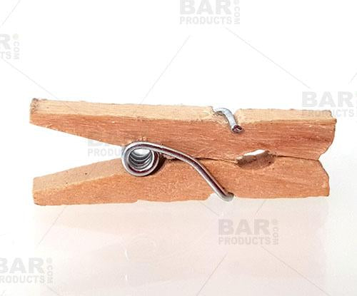 Mini clothespin Garnish Clip