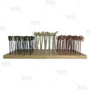 BarConic® Bamboo Cocktail Pick Display - 18 holes