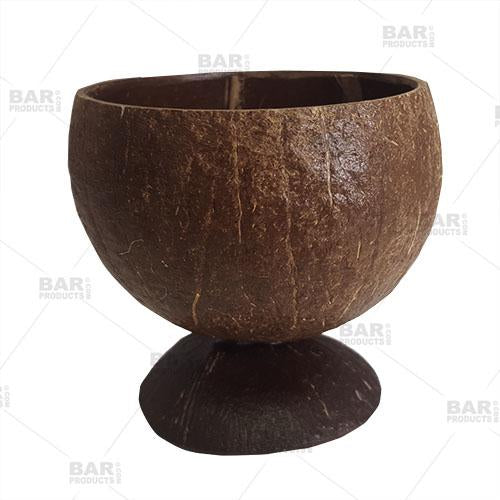 BarConic® Real Coconut Cup with Base - Lacquered