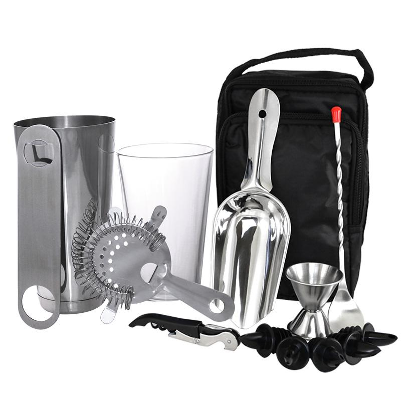 Complete Bartenders Tote Bag - Boston Cocktail Set