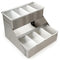 BarConic® Stainless Steel Double Decker Condiment Holder - 8 Pint