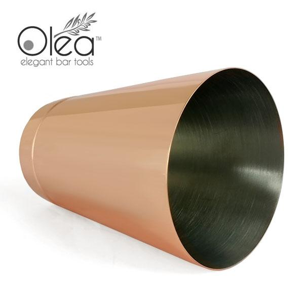 Olea™ 16oz Weighted Cocktail Shaker - Copper Plated