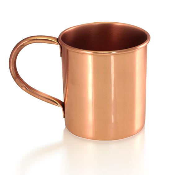 Copper Moscow Mule Mug - 16 ounce - No Logo