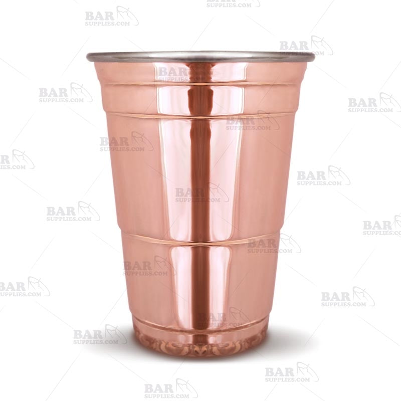 16 oz Copper Plated Tumbler